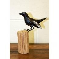Wooden Art - Carved Garden Birds