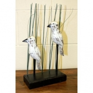 Wooden Art - Herons