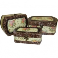 Set of 3 Boxes - Large Victorian