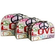 Love & Peace (3 Pieces)