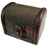 Med Colonial Box - Mesh Embossed