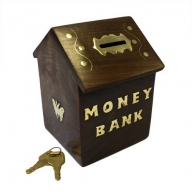 Money Bank Box - House