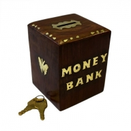 Money Bank Box - Cube