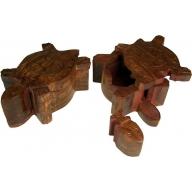 Tortoise Puzzle Box