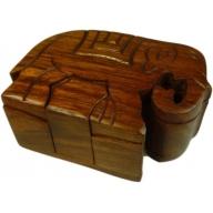 Elephant Puzzle Box