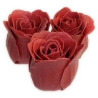 Bath Roses - 3 Roses in Heart Box (Rose)