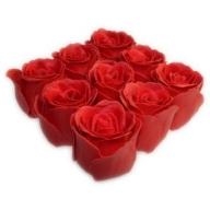 Bath Roses - 9 Roses in Gift Box (Rose)