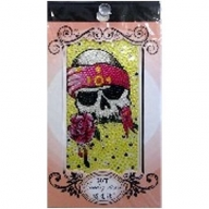 Jewellery Stickers - Tattoo Skull & Rose
