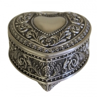 Jewellery Casket - Heart Chest