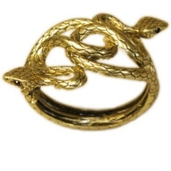 Double Entwined Snakes Bracelet