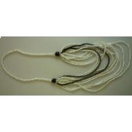 Perilous Pearls Long Drop Necklace