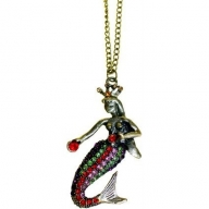 Retro Bling Pendants - Mermaid