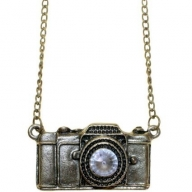 Retro Bling Pendants - Camera