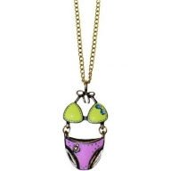 Retro Bling Pendants - Bikini