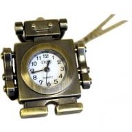 Steampunk Pendant - Robot Clock