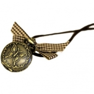 Butterfly Steampunk Watch Pendant