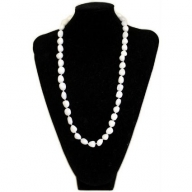 Rock & Roll Necklace - White Quartz