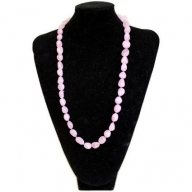 Rock & Roll Necklace - Agate Rose