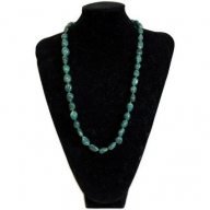 Rock & Roll Necklace - Agate Green