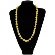 Rock & Roll Necklace - Agate Yellow