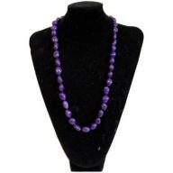 Rock & Roll Necklace - Agate Purple