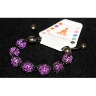Shambhala 7 Amethyst Beads 14mm