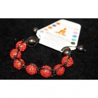 Shambhala 7 Full Ruby Beads 14mm