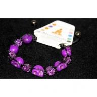 Shambhala Violet & Mauve 10mm