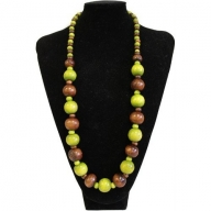 Beach Party Necklace - Lime