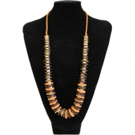 Coconut Necklace - Orange