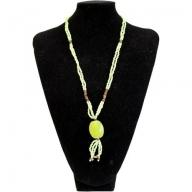 Sundown Chick Necklace - Lime