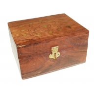 Aromatherapy Wooden Box-holds 12x10ml bottles
