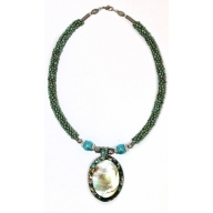 Shell Necklace - Turquoise