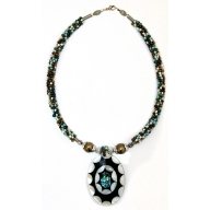 Shell Necklace - Turquoise Mixed