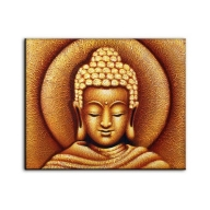 Sun Buddha Golden - Painting LARGE