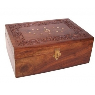 Wooden Aromatherapy Box-holds 24x10ml
