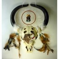 Dreamcatcher Wolf & Skull
