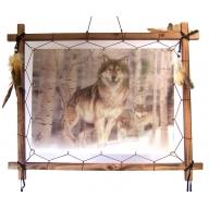 Dreamcatcher 3D Pic - 3 Wolves B