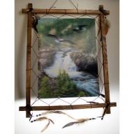 Dreamcatcher 3D Pic - Eagle & River