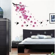 Wall Art - Sparrows & Blossom