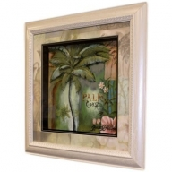 Hand Painted Relief Art - Palm Coast