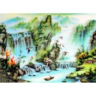 Lrg High Def 3D Pic - Mystic Lake