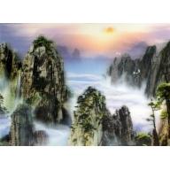 Lrg High Def 3D Pic - Mystic Mountains