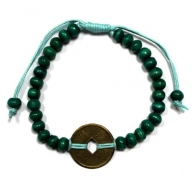 Good Luck Feng Shui Bracelet - Green