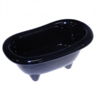 Ceramic Mini Bath - Black