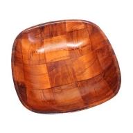 Small Cottonwood Square Basket - 15 cm