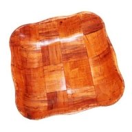Med Cottonwood Wawy Sq Basket - 20 cm