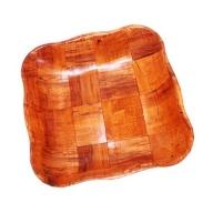 Small Cottonwood Wawy Sq Basket - 16 cm