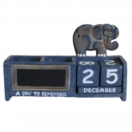 Day to Remember pen holder - Blue Elephant