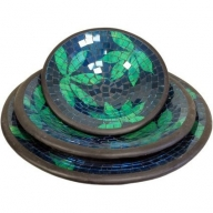 Mosaic Bowls - Moss&Water,set of 3